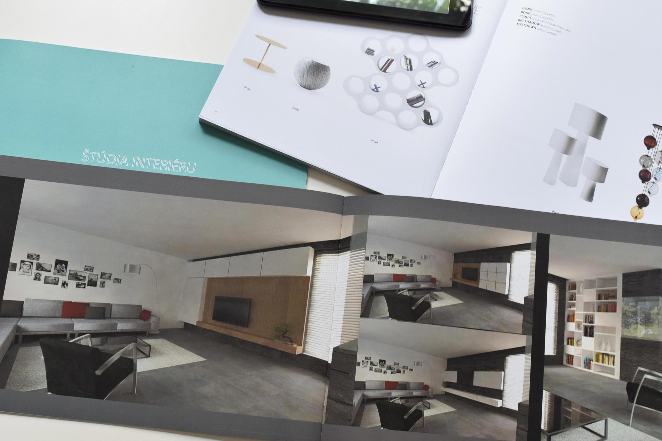 Návrh interiéru - Interiérový dizajn, bytový dizajn, komerčné priestory