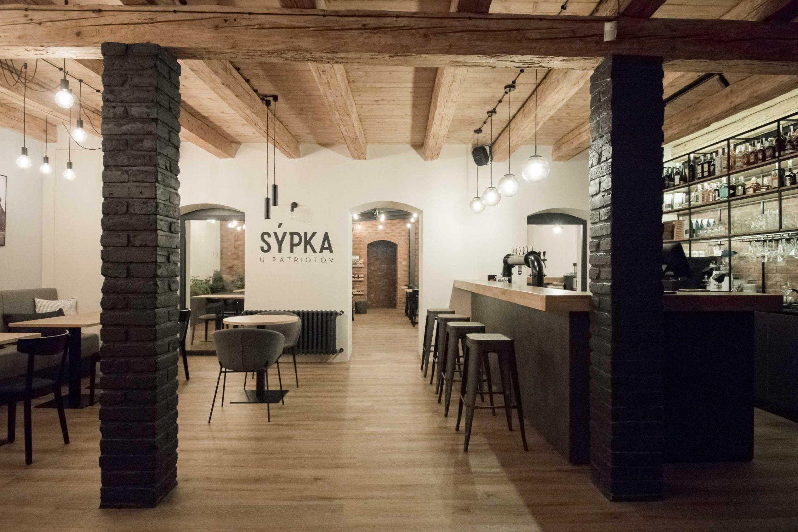 Rekonstrukcia a pristavba kaviarne, vstup novy, VAUarchitects