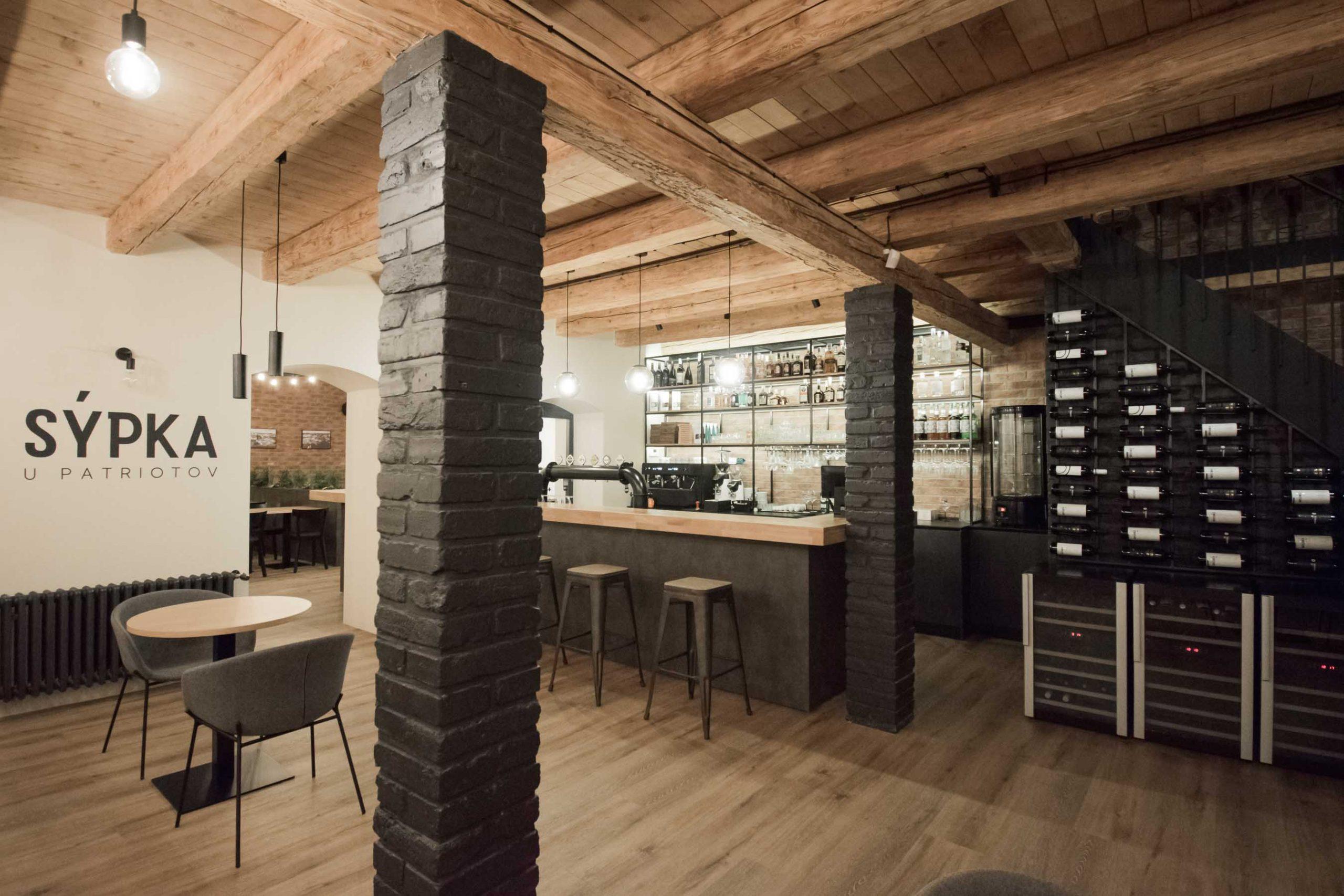 Rekonstrukcia a pristavba kaviarne, bar novy, VAUarchitects