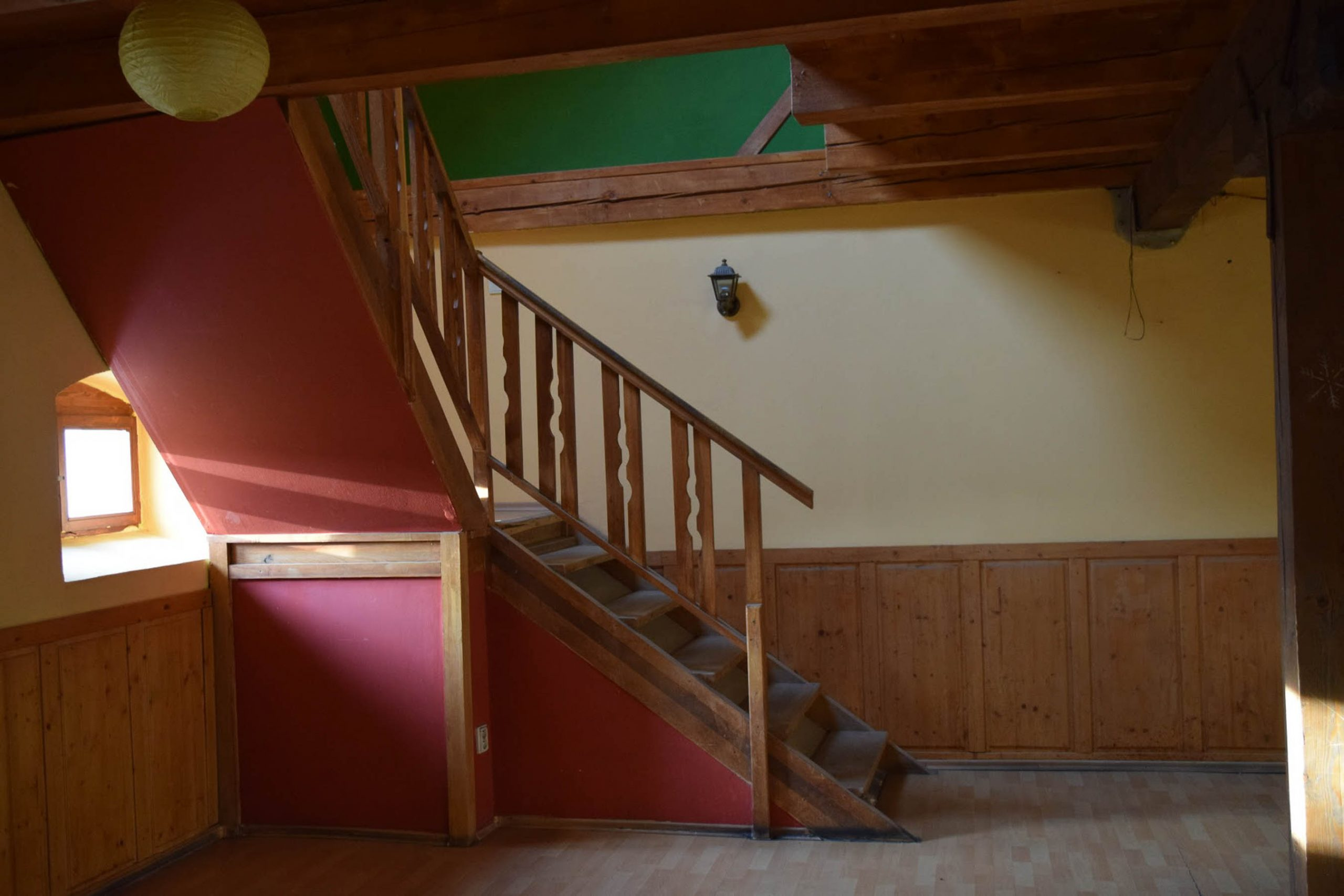 Rekonstrukcia a pristavba kaviarne, schodisko povodne, VAUarchitects