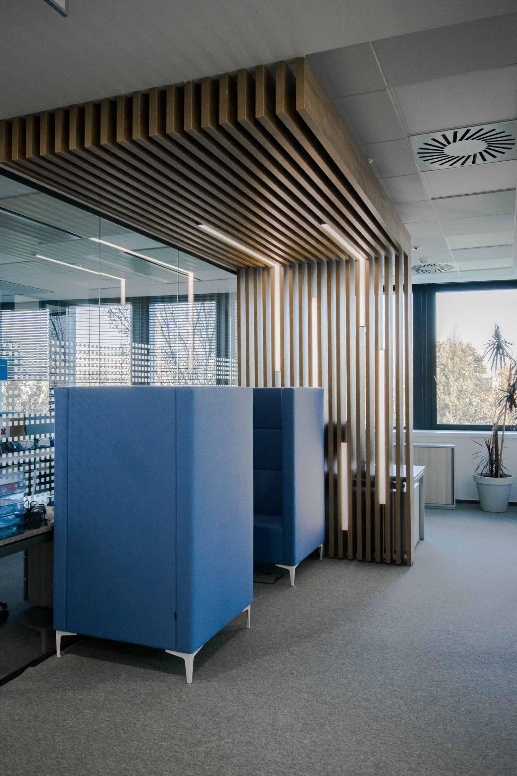 Interiér kancelárie GEFCO, Bratislava, VAUarchitects